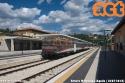 Aln 776.024 ex FCU in arrivo a L'Aquila con un regionale proveniente da Terni. foto Arturo Mornatta (18-07-'18)