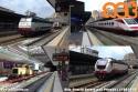 """A Genova Piazza Principe vediamo un Frecciabianca Genova-Roma, una E444 """"Tartaruga"""", una E402 e un treno cantiere. foto Aldo Cincotti. (12-06-'18)"""