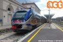 Treno ETR 425 Jazz in servizio come regionale Foligno - Terontola Cortona, ripreso alla stazione centrale di Perugia. (11-07-'18)