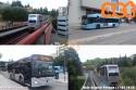 Autobus urbani e metropolitana leggera a Perugia. (11-07-'18)