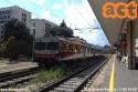 ALn 776, ancora in livrea FCU, in sosta alla stazione di Perugia in attesa di partire per Terontola. (11-07-'18)