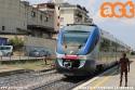 Minuetto proveniente da Empoli e diretto a Siena in arrivo alla stazione di Poggibonsi. (07-08-'18)