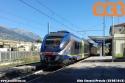 Regionale Sulmona-Pescara alla stazione di Pratola Peligna. foto Aldo Cincotti. (28-08-'18)