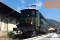 Ae 4/7 10987 dell'Associazione Verbano Express in stazione a Luino in attesa di partire per Cadenazzo.  (13-10-'19)