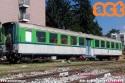 Carrozza SSB Leichtstahlwagen, in livrea FNM, in comodato d'uso all'Associazione Verbano Express. (13-10-'19)