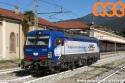 """Vectron HUPAC E.193.491 esposta in occasione del convegno del CIFI """"Il futuro della ferrovia a Luino"""" del 10 ottobre 2019. (10-10-'19)"""