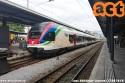 RABe 524 TILO nella nuova livrea in sosta nella stazione di Locarno. (17-08-'19)