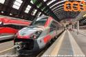 """Con il cambio d'orario del 9 giugno 2019 sono entrati in servizio, nella tratta Milano-Ancona, i primi ETR 700 (ex-Fyra) sotto il marchio """"FrecciaArgento"""". (09-06-'19)"""