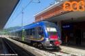 ATR 220 in sosta nella stazione di Fabriano. (11-06-'19)