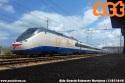 Treno diagnostico Aiace in transito nella stazione di Falconara Marittima. (13-07-'19)