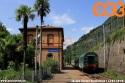 Stazione di Fiumelatte, nei pressi dell'omonimo fiume  che, con i suoi 207 metri di percorso, è il più breve d'Italia. (13-07-'19)