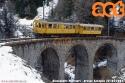 Treno Speciale ACT sul Bernina, con elettromotrice 30 e carrozza C 104