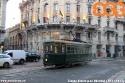 sabbiera 712 ripresa in piazza Oberdan di fronte all'ex cinema Diana, ora quartier generale di una nota griffe di pelletterie. (30-11-'17)