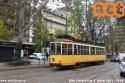 Un'automobile in sosta irregolare sui binari ha costretto a far terminare le corse del tram 10 in piazza IV Novembre. (08-11-'18)