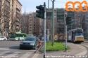Per lavori in via Vincenzo Monti, la linea 19 effettua servizio su due tratte: Lambrate-Cairoli e Castelli-VI febbraio. (16-02-'18)