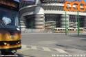 Capolinea di San Siro, linea 16: parte un tram e arriva subito l'altro. (19-10-'18)