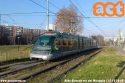 L'Eurotram 7012 in servizio sul 15 sta per lasciare Milano alla volta di Rozzano in una fredda giornata di dicembre. (15-12-'18)