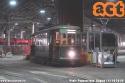 Con oggi sono iniziati i servizi delle sabbiere, nella foto vediamo la 706 di Baggio in prima fila pronta per uscire prima degli altri tram alle ore 04:00. (22-10-'18)