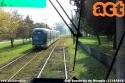 Per il prolungamento al centro di Rozzano, la linea 15 ha ricevuto due tram Sirio, il 7104 e il 7105, che sano passati dal deposito Precotto al deposito Ticinese. Nella foto è ripresa la 7104 in direzione centro. (13-10-'18)