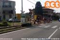 Milano-Limbiate: opere di sostituzione di un tratto di binario (e relativa controguida) a Limbiate, via Monte Bianco. (21-06-'18)