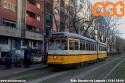Vettura 4721 ripresa senza pubblicità in via Legnano, sul 2 in direzione Bausan. (15-01-'19)