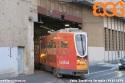 Recentemente il deposito Baggio è stato chiuso per lavori ai binari di piazza Piemonte: perciò alcune vetture sono state portate a Messina. In foto la 4913 mentre rientra in via Tartaglia. (19-07-'19)