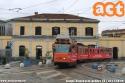 4956 in servizio pomeridiano sul 9 al capolinea di Porta Genova. (16-11-'19)