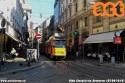 Linea 12 deviata al capolinea di via Cantù per lavori di rinnovo all'armamento in via Albricci. (05-06-'19)