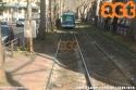insolita presenza di un Eurotram (7023) in Via Pascoli. (18-02-'19)