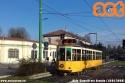 Tram 10 deviato in via Cenisio causa lavori. (18-01-'20)