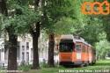 4986 in arancio ministeriale ripresa mentre transita nell'alberata via Mac Mahon. (26-05-'20)