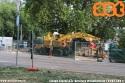 Cantiere all'incrocio tra via Procaccini e piazzale Cimitero Monumentale. (24-07-'21)