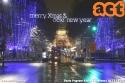 Auguri dalla 1746 tra le luci natalizie. (10-12-'17)