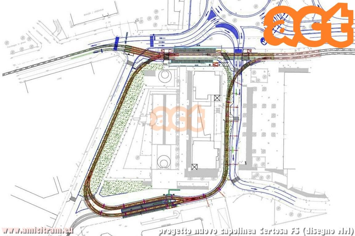 Assegnato l'appalto del nuovo capolinea tranviario Certosa FS