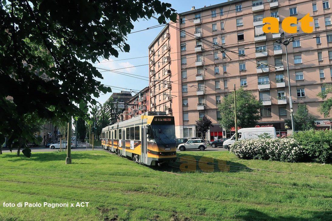 Sono tornati i tram in Mac Mahon-Cenisio