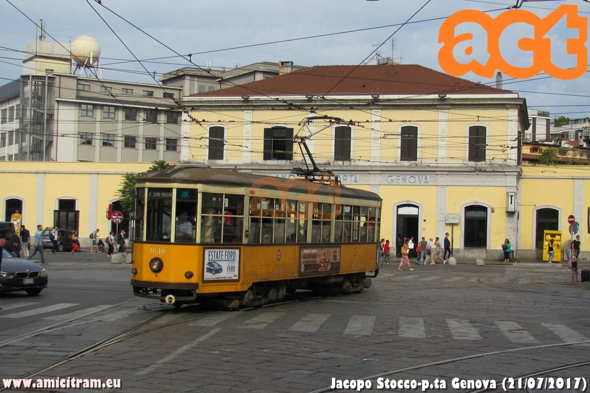 Lavori in Porta Genova
