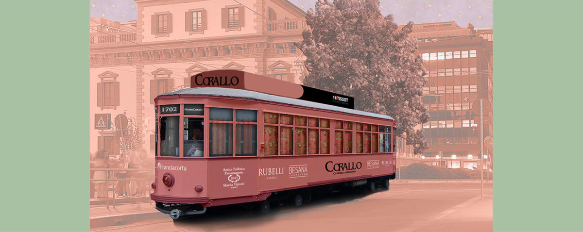 Design week: tram Corallo