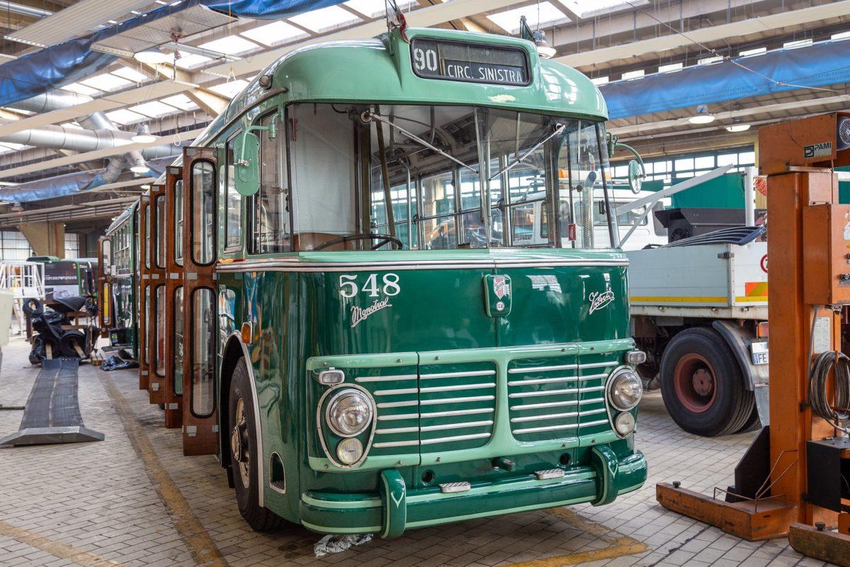 ATM celebra gli 85 del filobus