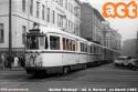 Arrivo di due bloccati, con la 549 in testa, in piazza Aspromonte a Milano, da Cassano d'Adda e Vaprio. Anno 1965 circa.