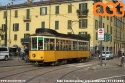 """Eccezionale e gradita presenza delle """"Carrelli"""" in piazza Lega Lombarda, causa deviazione dell'1 tra piazza Firenze e Foro Bonaparte. (25-10-'20)"""