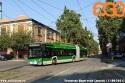 Filobus Trollino 819 ripreso in servizio sulla linea 92, mentre svolta da viale Lancetti a via Resegone. (11-09-'21)