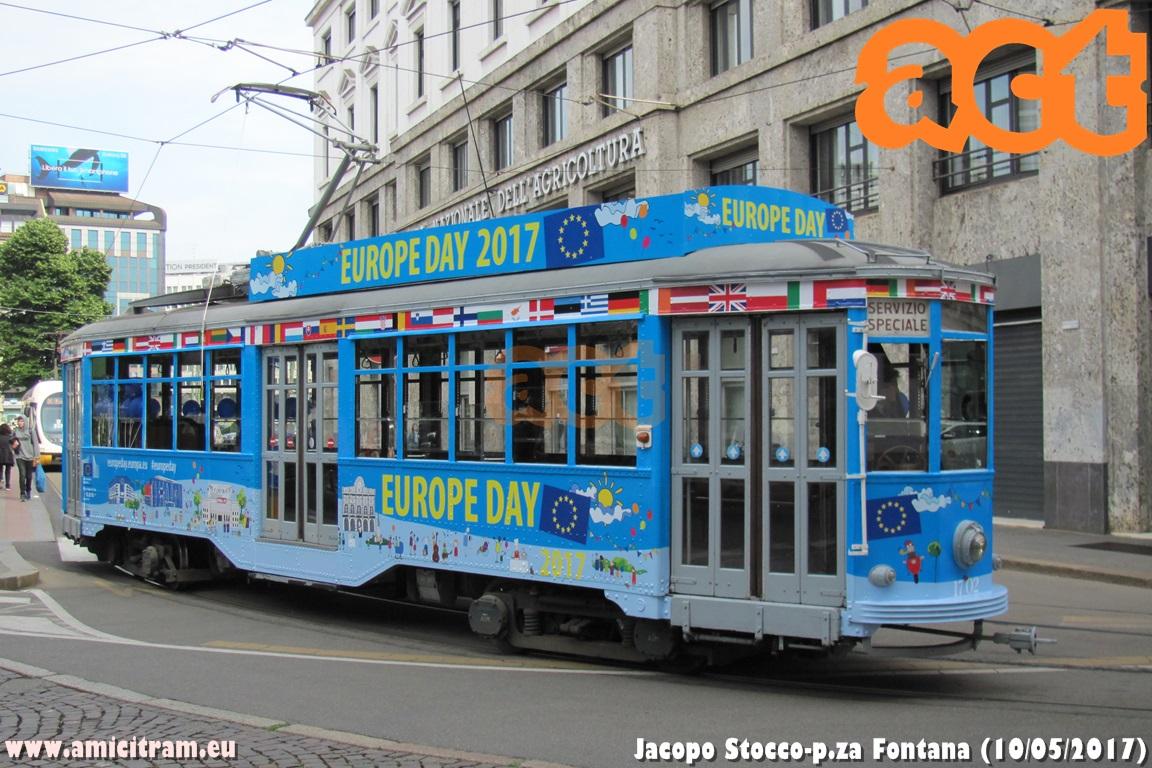 La 1702 porta l'Europa a Milano