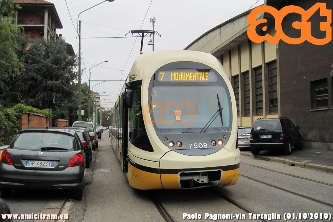 Linea 7 al Quartiere Adriano: approvato il progetto esecutivo