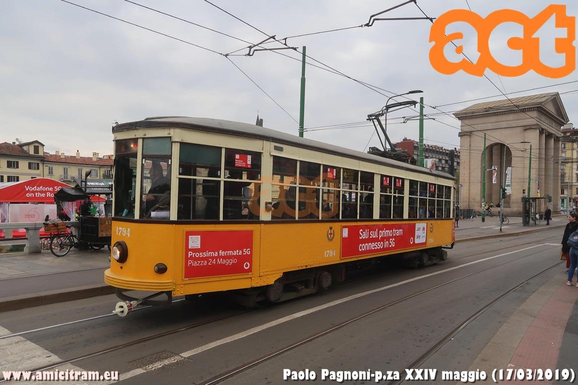 Il primo tram connesso in 5G