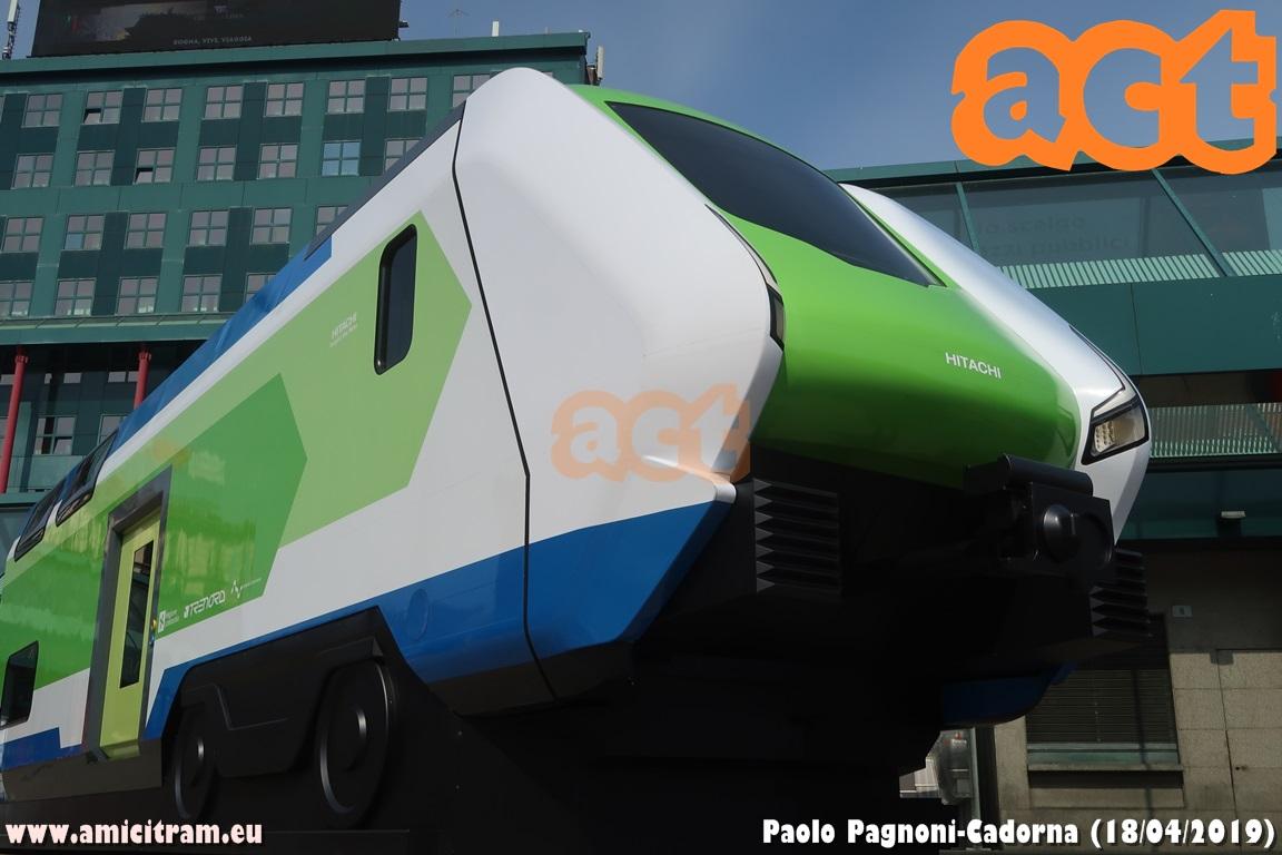 Presentato il mock-up dei nuovi treni regionali