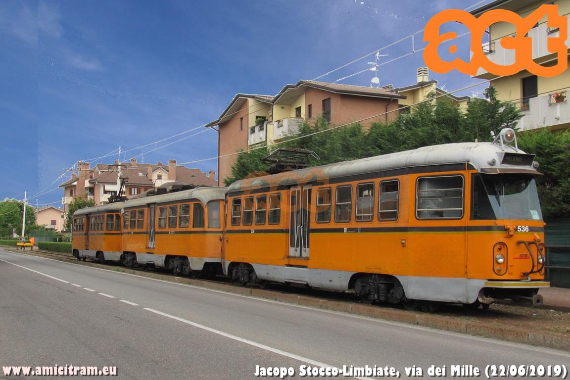 Milano-Limbiate: 100 metri di binari nuovi