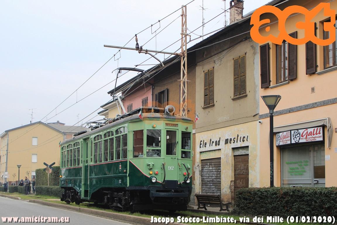 01/02/1920 – 01/02/2020 Da cent'anni in tram tra Varedo e Mombello