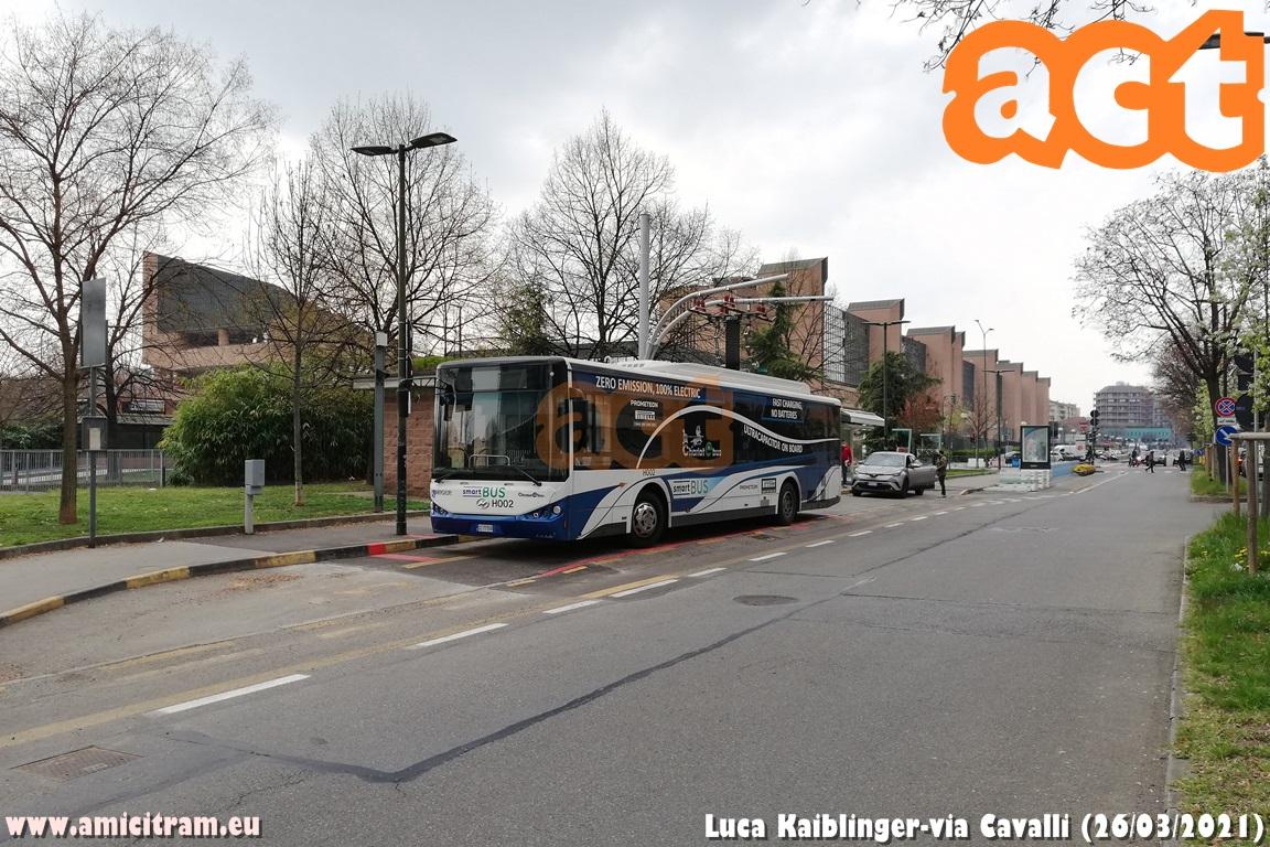 Bus sperimentali a Torino